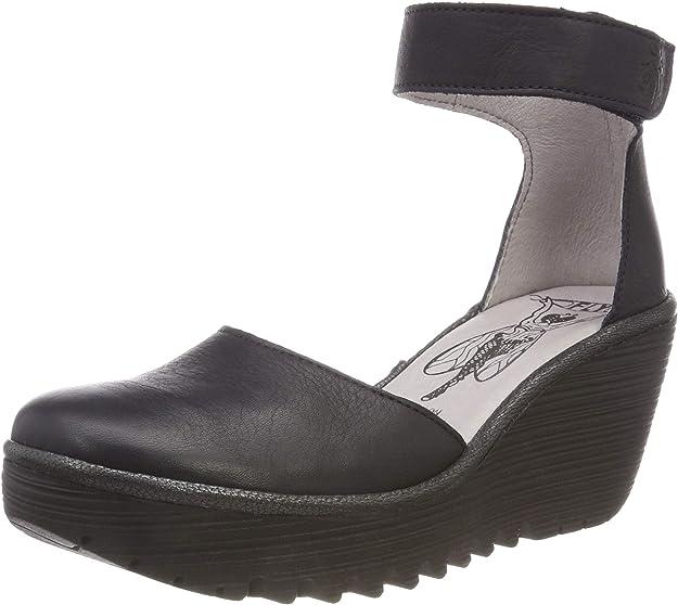 TALLA 40 EU. Fly London Yand709fly, Zapatos de tacón con Punta Cerrada para Mujer