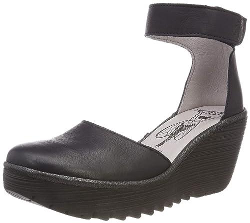 Zapatos Mujer Cuñas Al London Atado Fly Tobillo P500709001 De 84ESqngxw