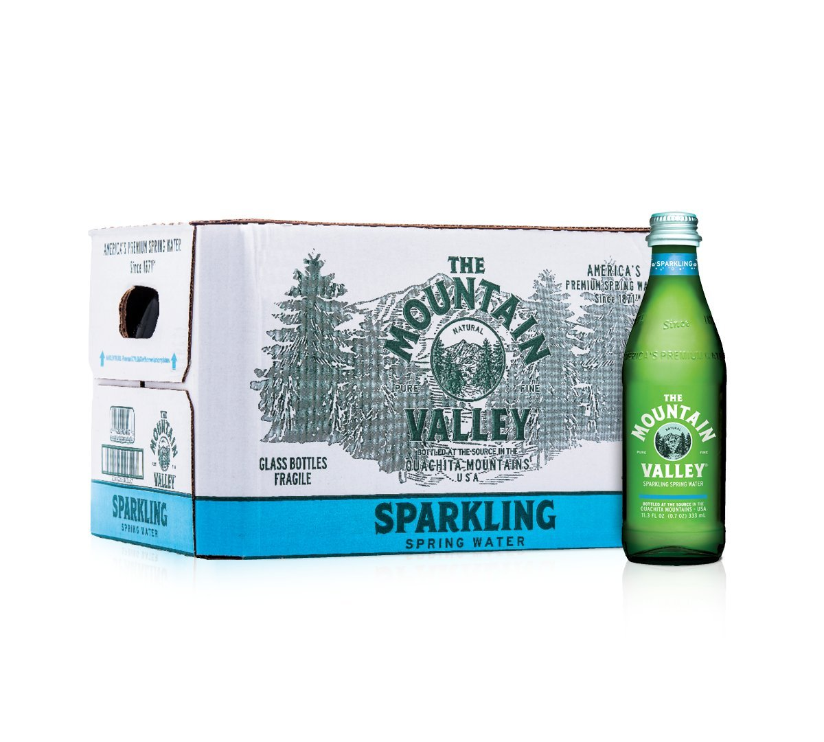 333 ML Glass Sparkling Water by