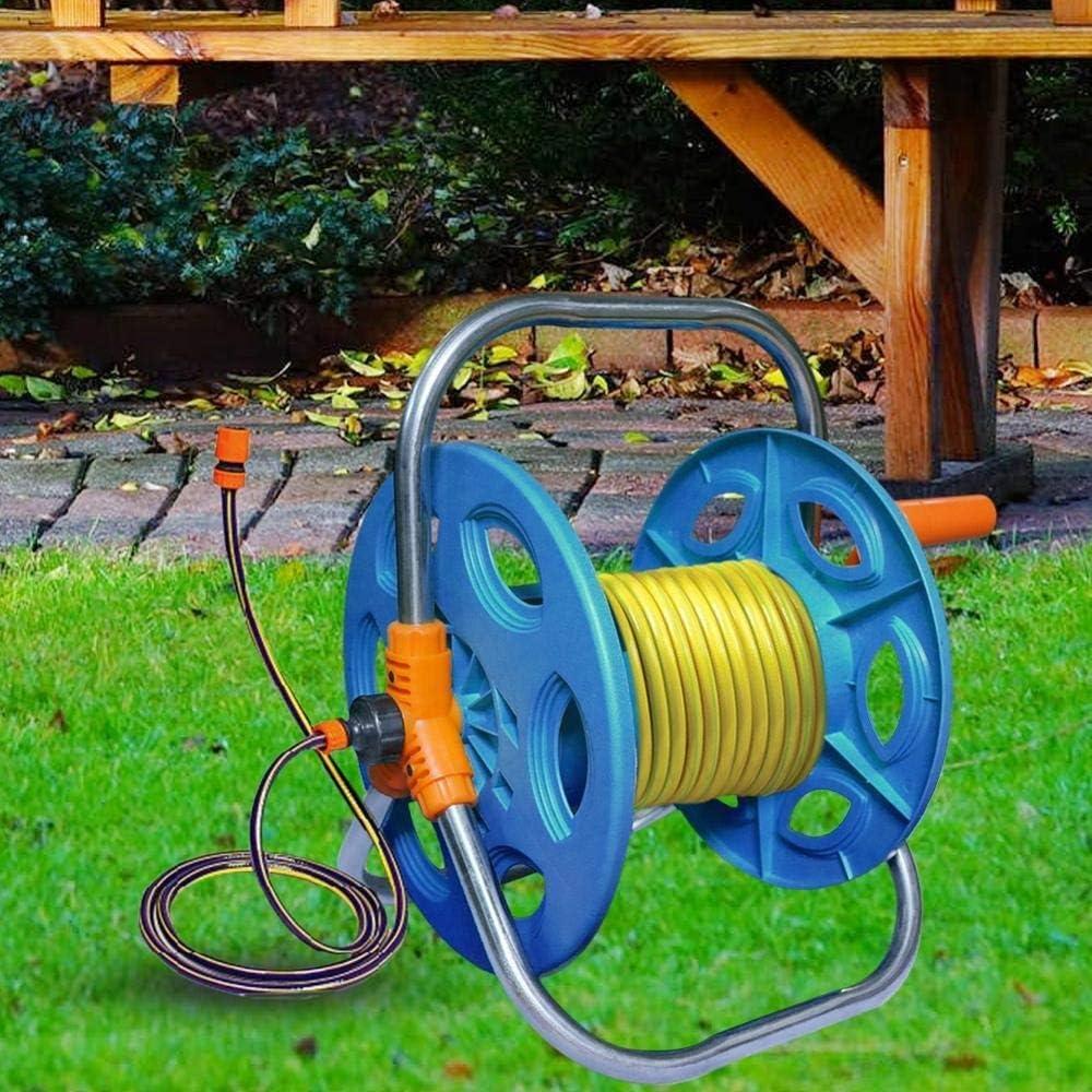 YIBANG-DIANZI Garden Water Hose Reel Holder Garden Cart Water Pipe Storage Rack Holder Portable Standing Carrier For Household Irrigation Tool A