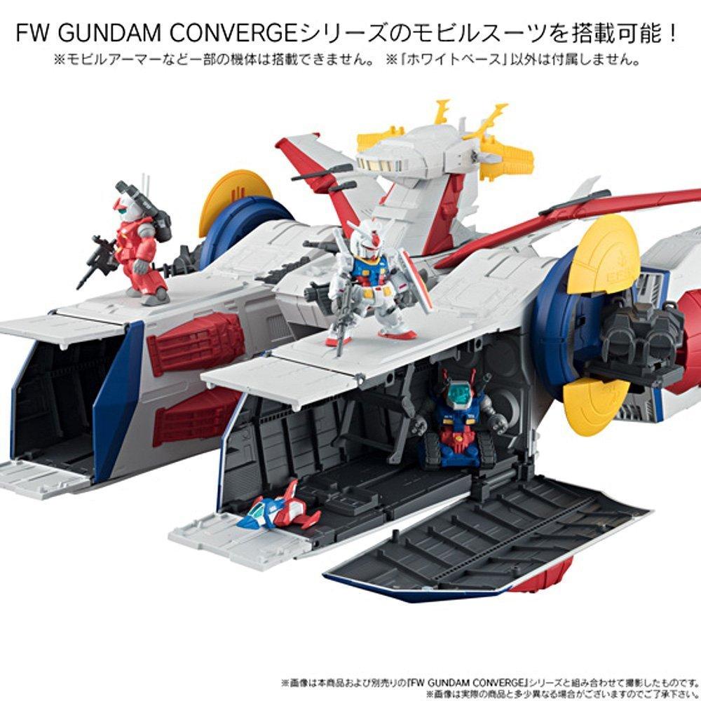 Bandai FW Fusion Works Shokugan Gundam Converge Weiß Base & Operation V Set