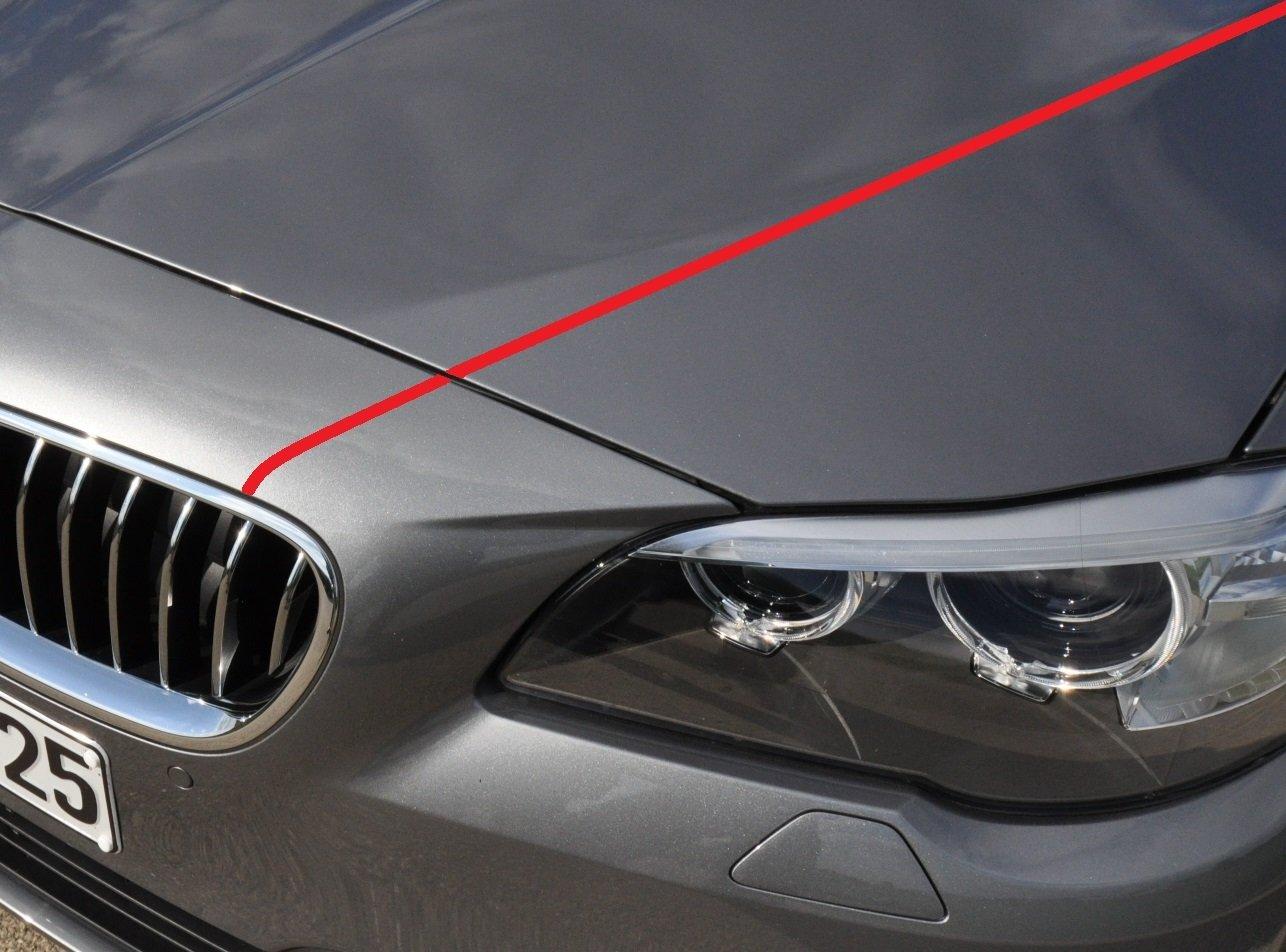 Hochglanz passend f/ür alle Modelle 3 mm Rot 10 Meter Rally Streifen passend f/ür Ihr Fahrzeug