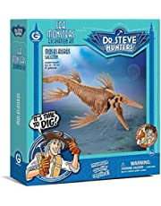 Geoworld - Sea Monsters Excavation Kit, Mosasaurus Figura (DeQUBE Trading CL1684K)