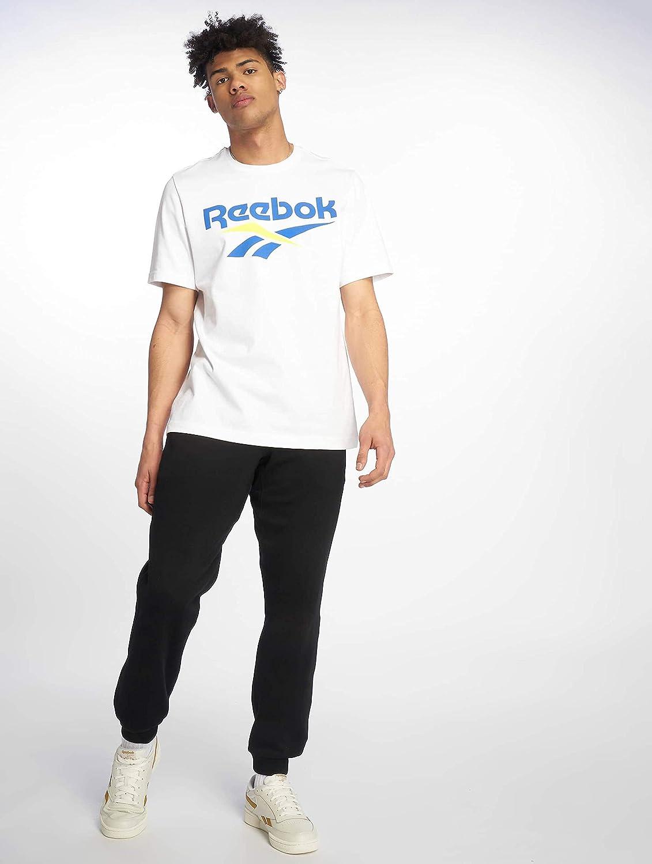 Reebok T Shirt Herren CL V Tee DX3818 Weiß: