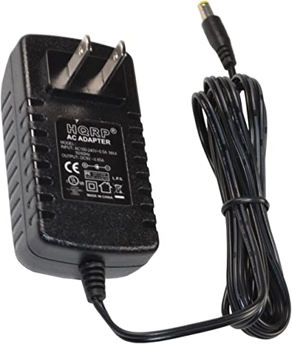CASIO CT625 KEYBOARD POWER SUPPLY REPLACEMENT ADAPTER 9V