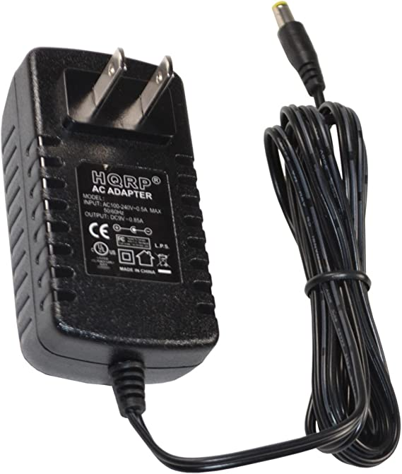 Mains Adaptor Power Supply Cord HQRP 9V AC Power Adapter for Casio AT-1 AT1 CA-100 CA100 CT-210 CT210 CT-360 CT360 CT-400 CT400 CT-510 CT510 CT-650 CT650 CT-770 CT770