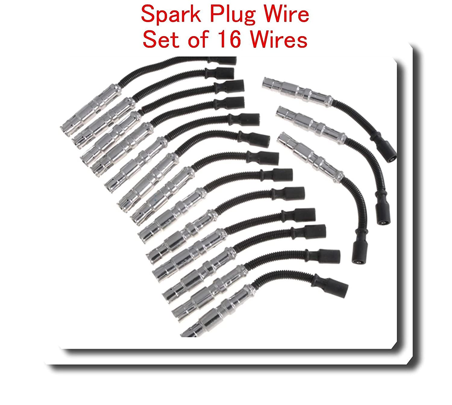 Amazon 1121500418 Spark Plug Wire Set 16 Wires For Mercedes. Amazon 1121500418 Spark Plug Wire Set 16 Wires For Mercedes Benz V8 Amg C43 C55 Cl55 Clk55 Cls55 E55 G55 Ml55 S55 Slk55 Sl55 Clk430 500 Cl S500 E Ml. Mercedes Benz. Mercedes Benz 2000 Sl500 Wiring At Scoala.co