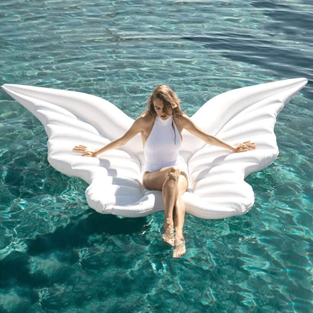 LI HAO SHOP Creative Erwachsene aufblasbares Bett faltbar Badewanne groß Schwimmring aufblasbar Sofa (Zwei Styles können wählen)