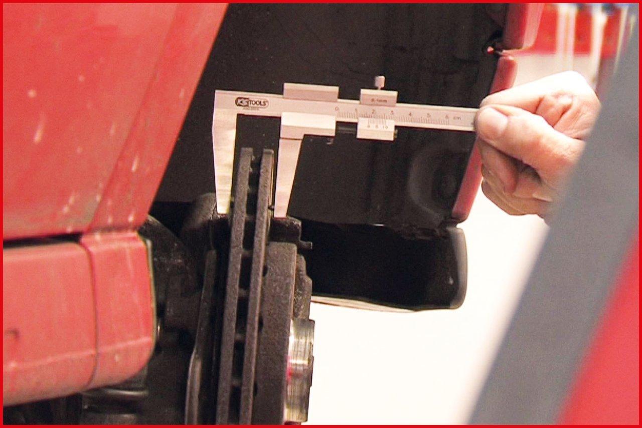 162mm KS Tools 300.0535 Bremsscheiben Messschieber 0-60mm