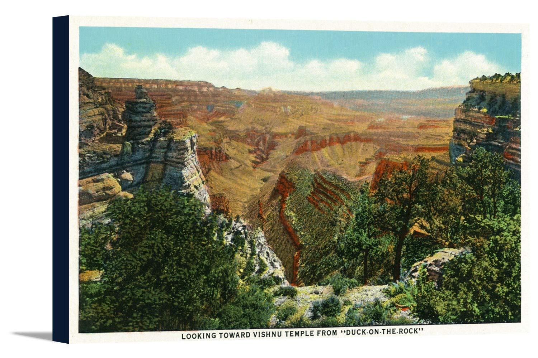 グランドキャニオン国立公園、アリゾナ州 – Panoramic View ; Vishnu Templeから