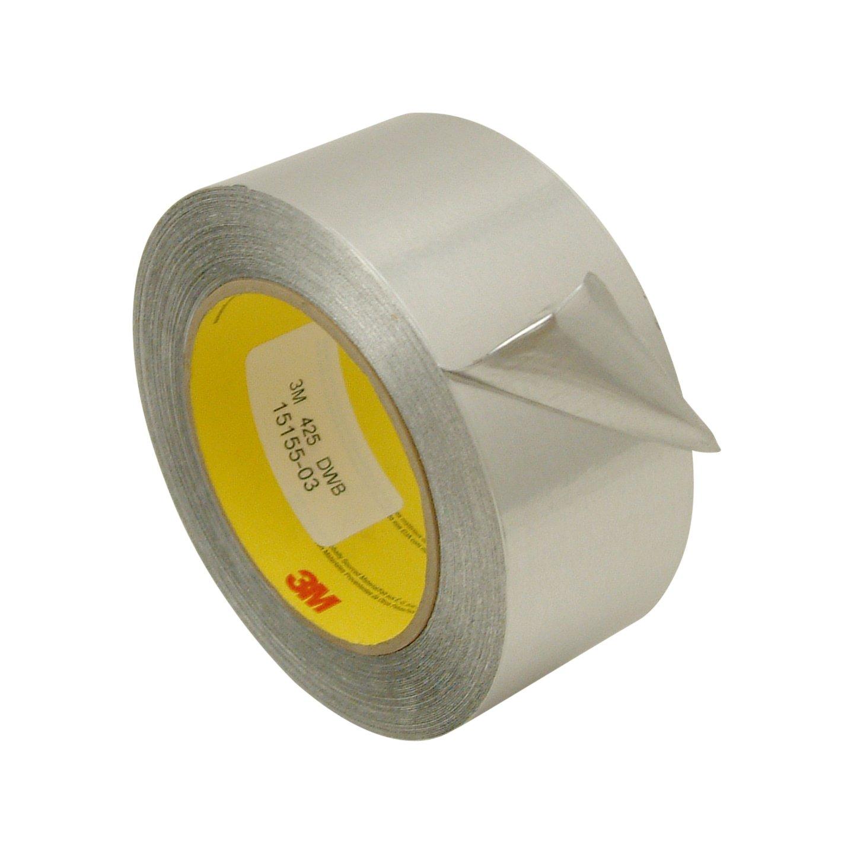 3M 425/SI260 Scotch 425 Aluminum Foil Tape: 2'' x 60 yd., Silver