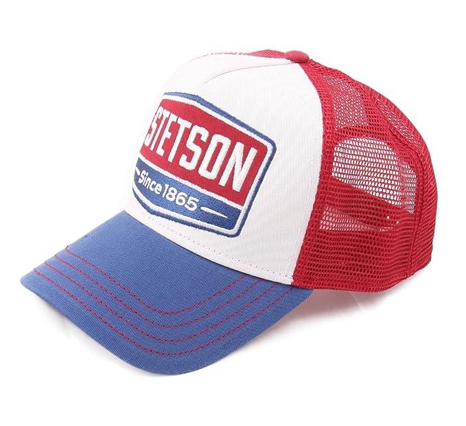 Stetson - Gorras de béisbol Hombre Trucker Cap gasolinoe: Amazon.es: Ropa y accesorios