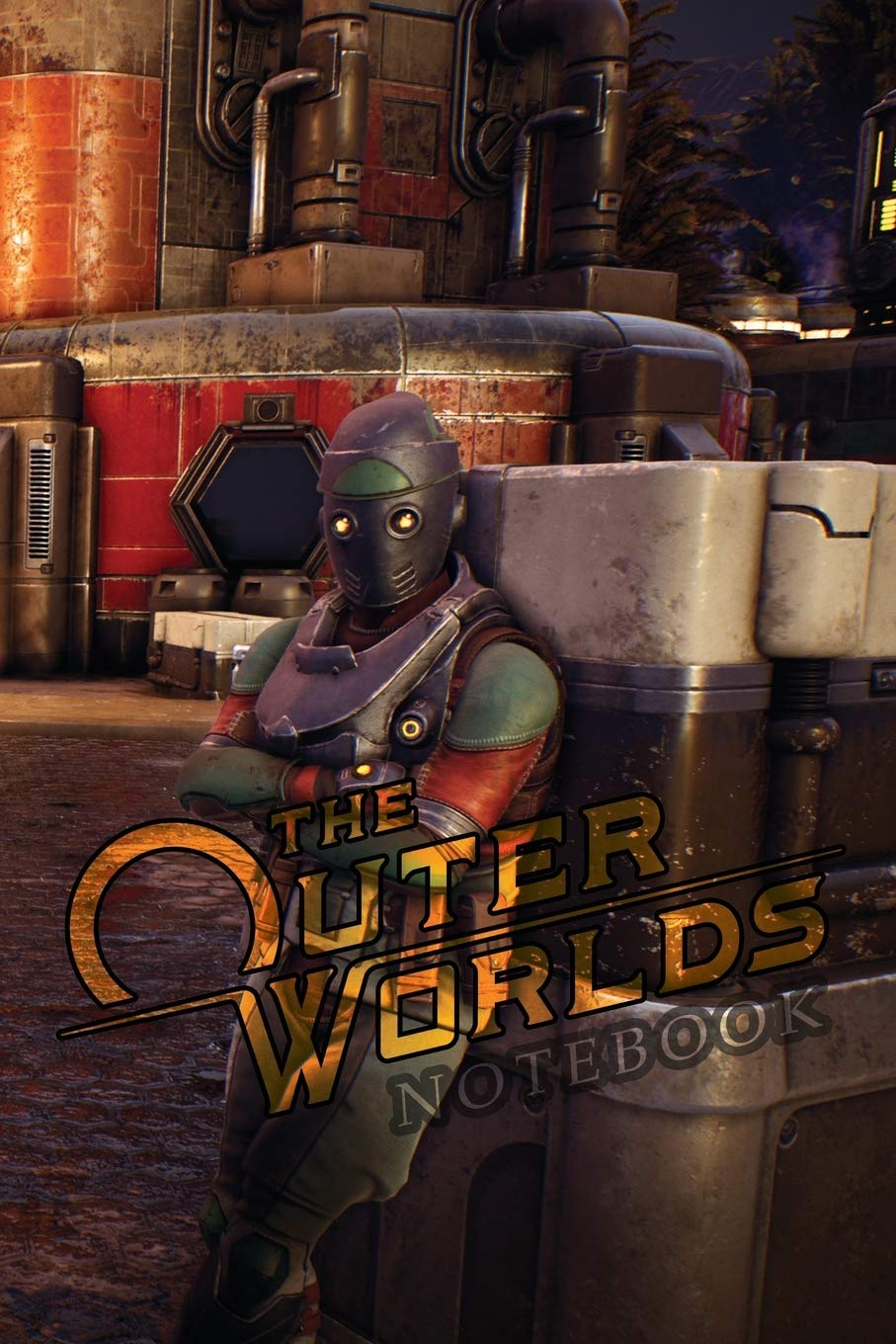 The Outer Worlds Notebook 120 Empty Pages With Lines Size 6 X 9 Amazon Co Uk Books Crazy Books