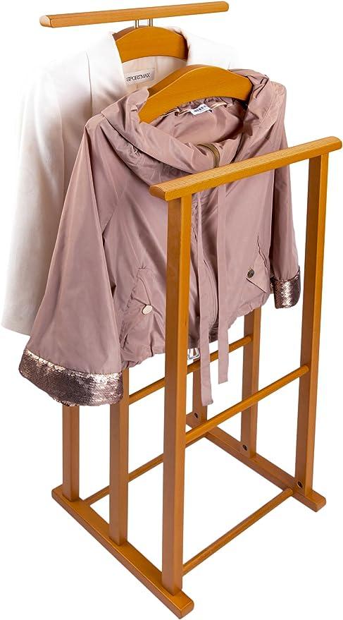 Arredamenti Italia Dressboy Voor Slaapkamer Maxi Hout 3 Voudige Dragers Kleur Kersenhout Ar It Il Cuore Del Legno Amazon Nl