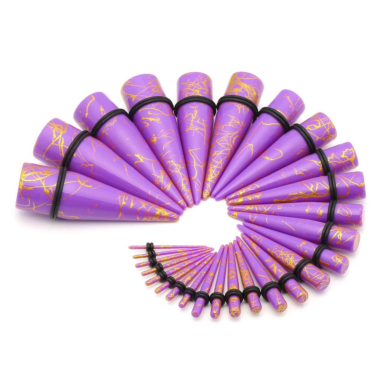 Amazon.com: Bopreina - Juego de 28 dilatadores de oreja ...