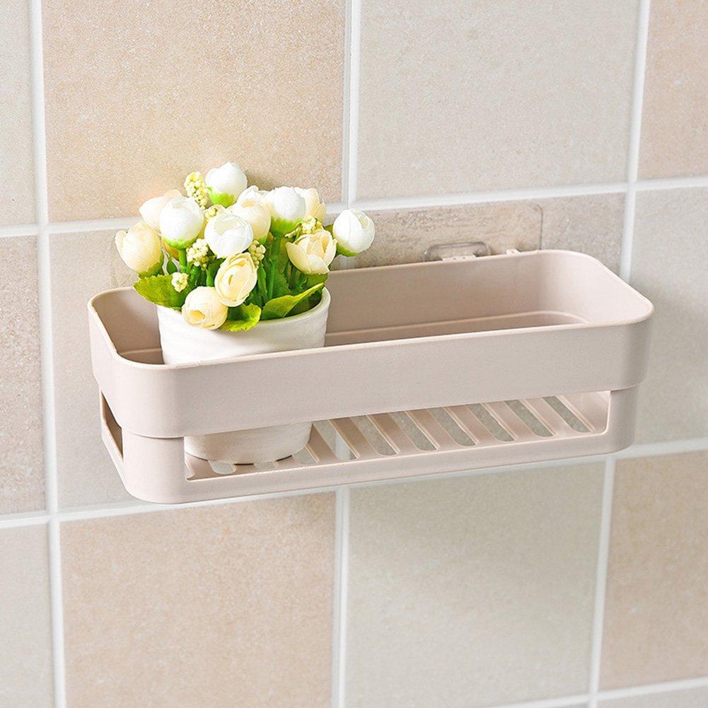 Zantec Estante adhesivo elegante, estante almacenamiento para la decoració n casera del cuarto de bañ o o la cocina estante almacenamiento para la decoración casera del cuarto de baño o la cocina