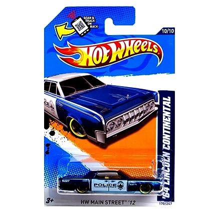 Amazon Com Hot Wheels 2012 Hw Main Street 12 10 10 64 Lincoln