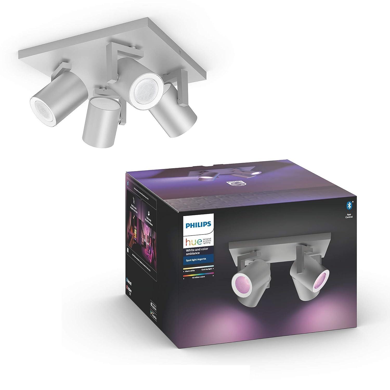 Argenta Spot 3 flg Amb Hue White /& Col wei/ß 3x350lm Bluetooth