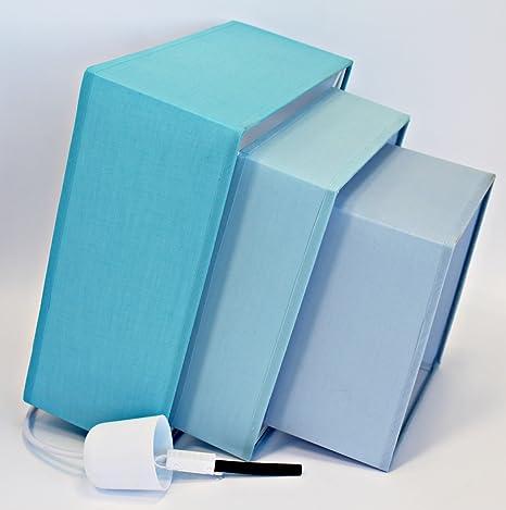 Triple Level Azules - Lámpara de Techo: Amazon.es: Iluminación