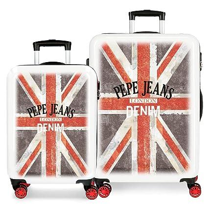 Juego de maletas Pepe Jeans World rígidas 55-68cm Denim ...