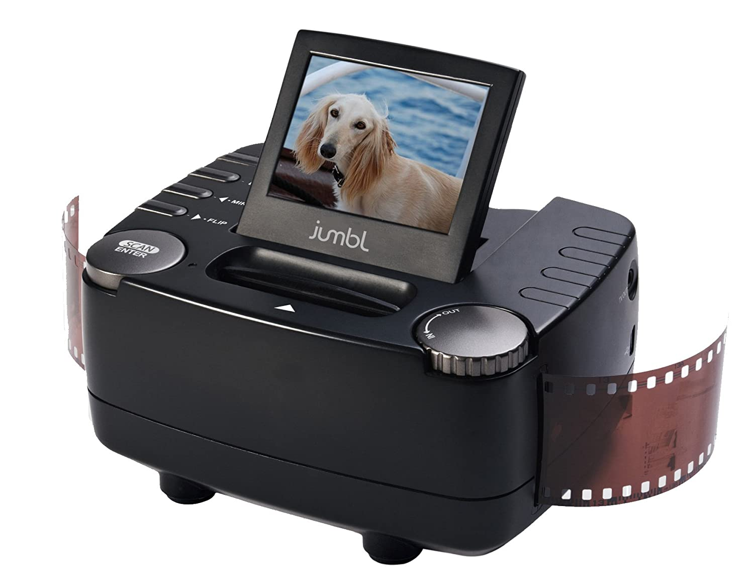 Top 5 Best Negative Film and Slide Digital Scanners for 2018-2019 cover image