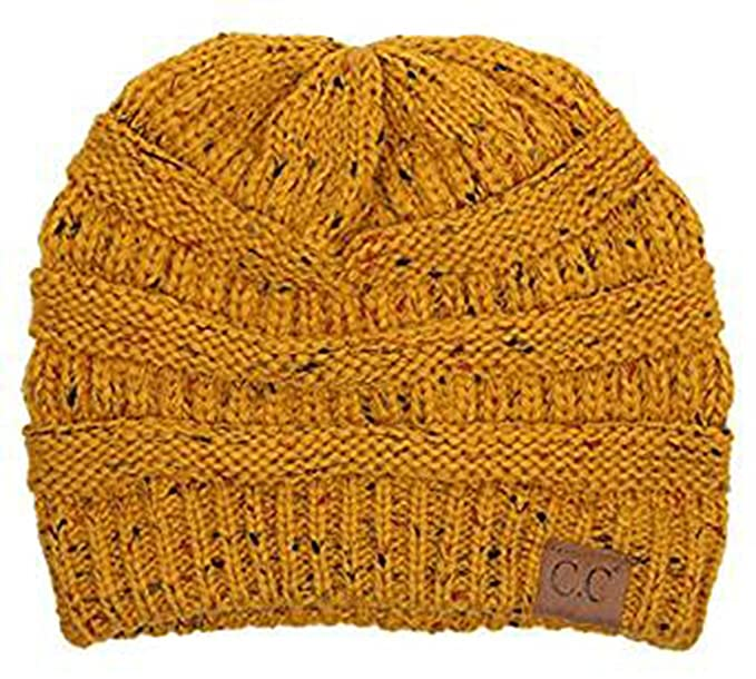 Trendy Warm Chunky Soft Stretch Cable Knit Slouchy Beanie Skully