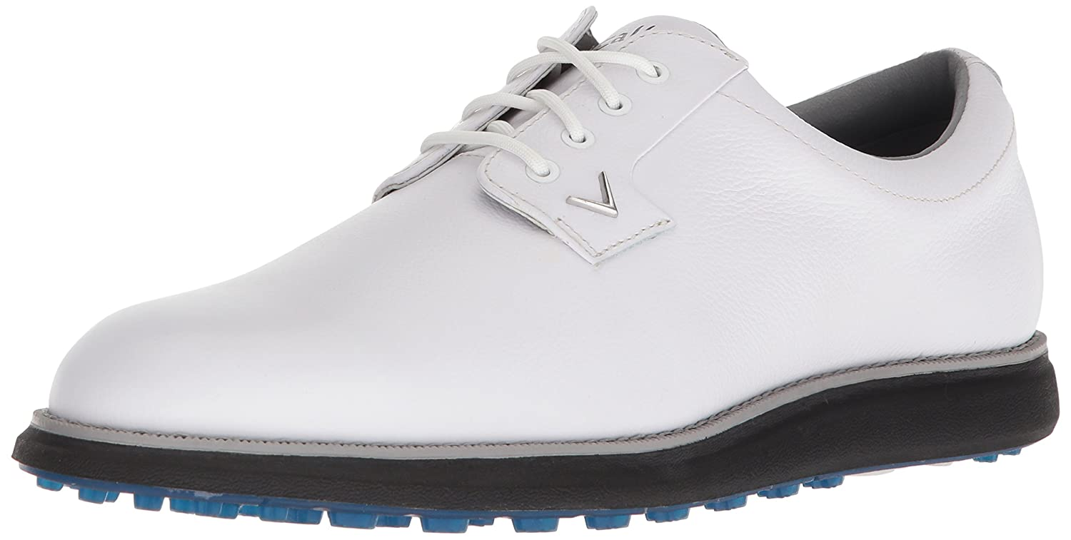 Callaway Men's Swami 2.0 Golf Shoe B074L896VC 10 D D US|White/Blue