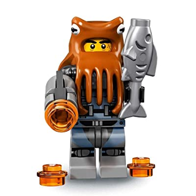 LEGO Ninjago Movie Minifigures Series 71019 - Shark Army Octopus: Toys & Games