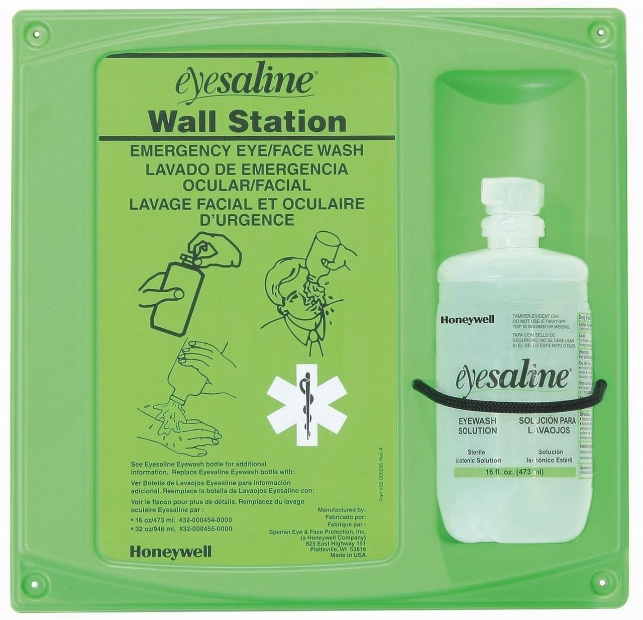 Eyesaline Single 32 Ozwall Station HONEYWELL 32-000461-0000
