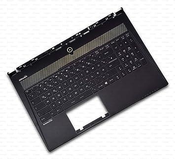 X-Comp - Teclado para MSI WS60, MS-16H3, MS-16H8, MS-16HX, MS ...