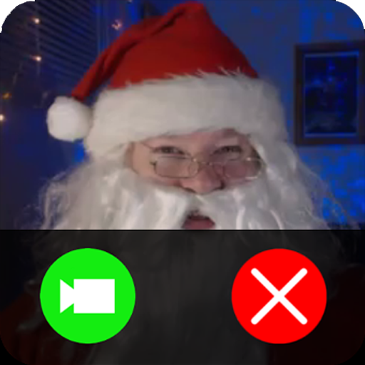 Live video call santa christmas