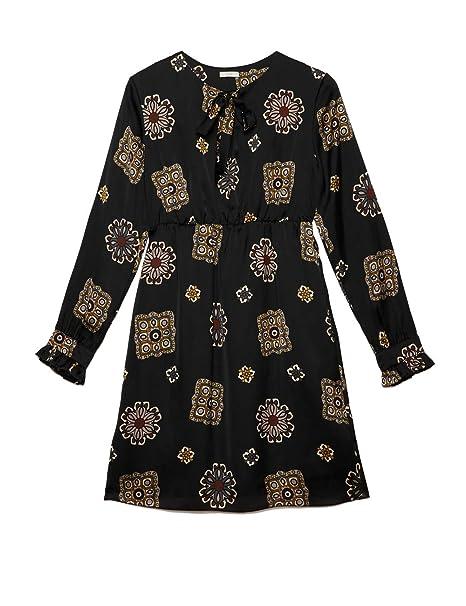 Oltre   Vestito Flared Fantasia (Italian Size)  Amazon.it  Abbigliamento 09cc679d79d