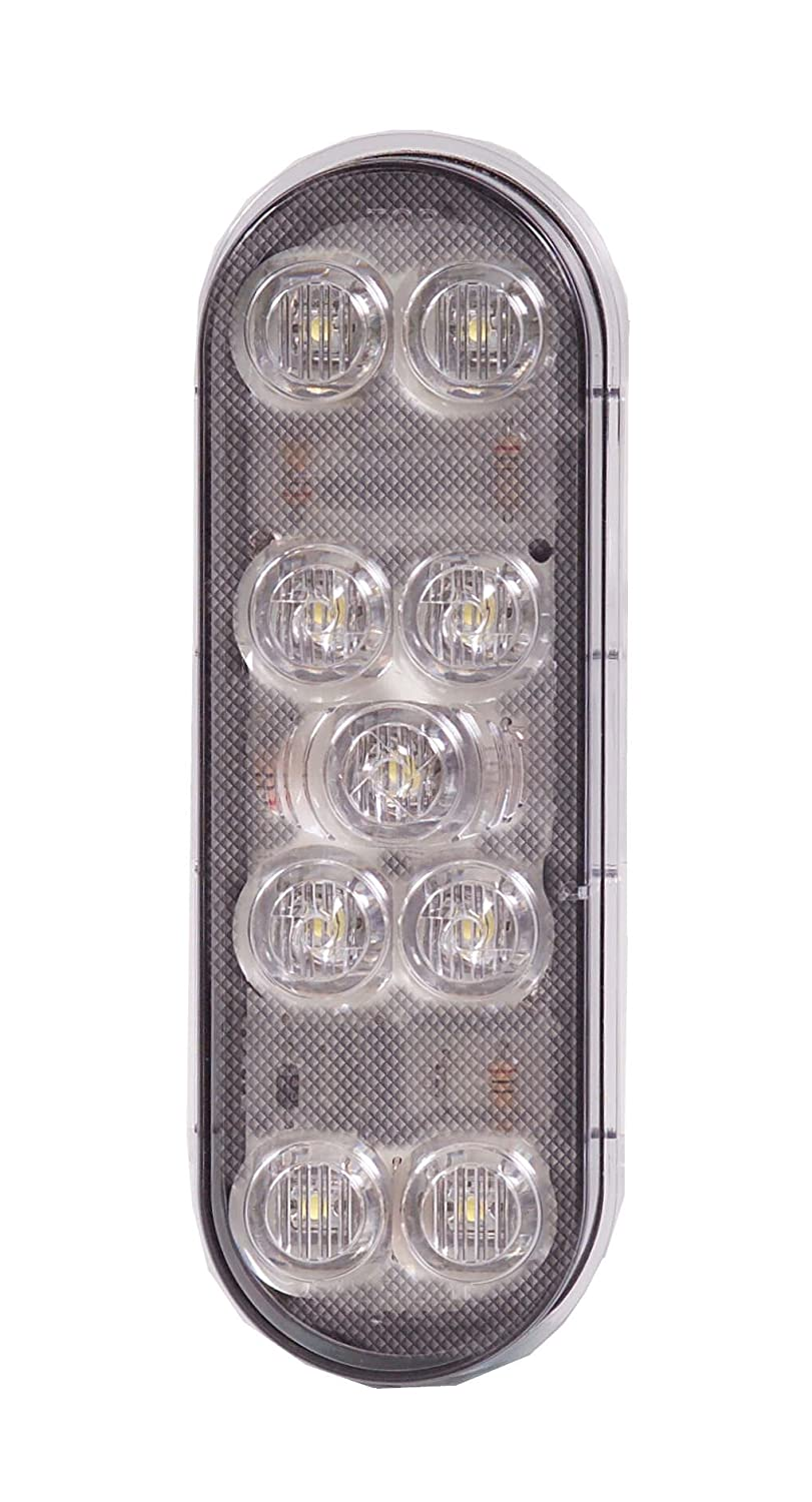 Maxxima M63347 White 6' Oval LED Backup Light