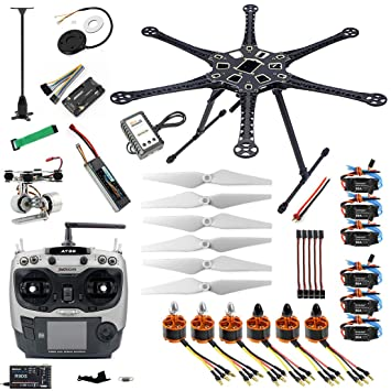 QWinOut 2.4G 9CH S550 RC Hexacopter Full Set RTF Assembled APM 2.8 ...