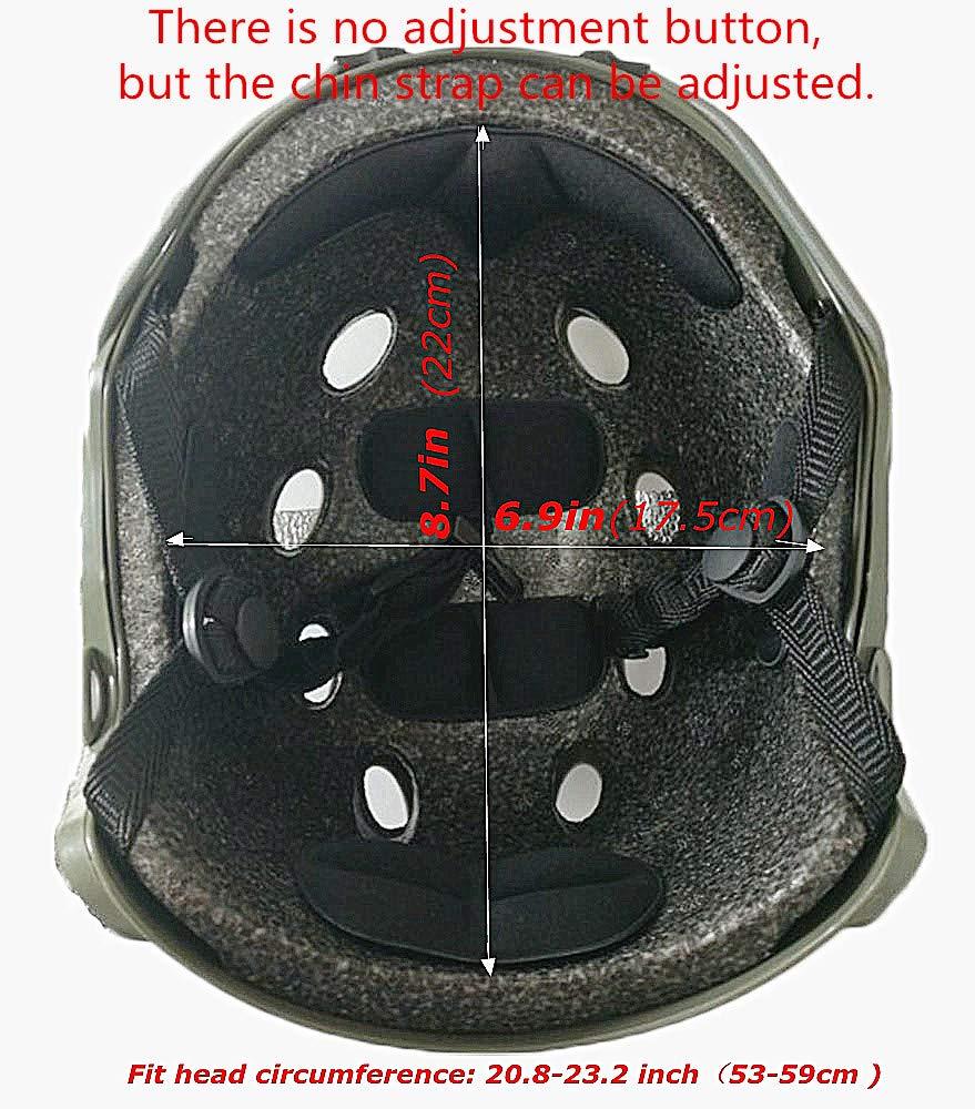 Raptors Tactical RTV Helmet, Black by Raptors