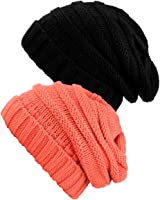 NYfashion101 Exclusive Oversized Baggy Thick Winter Beanie Hat