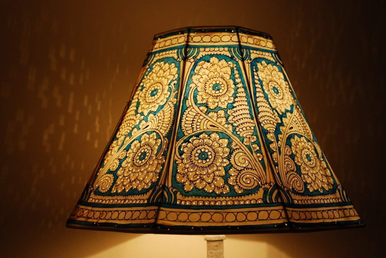 Bedside Lamp Floor Lamps Floor Lamp Unique Lamp Shade Vintage Lamp Table Lamp Floral Motif Lampshade Desk Lamp