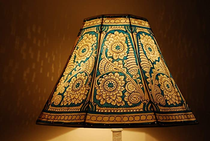 Amazon Com Floral Motif Lampshade Table Lamp Bedside Lamp Floor