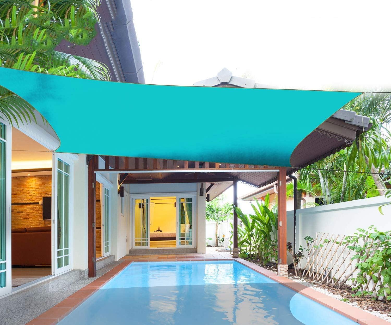 3.6x3.6m Rectangular Toldo Toldo, 95% protección UV ...