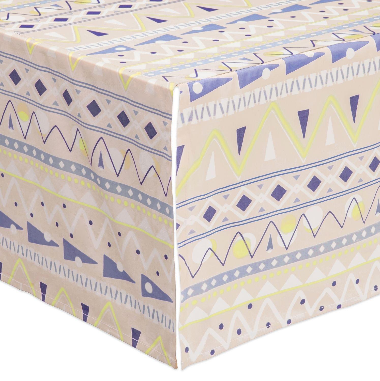 Desert Dreams Crib Skirt by babyletto   B01LWVRKBQ