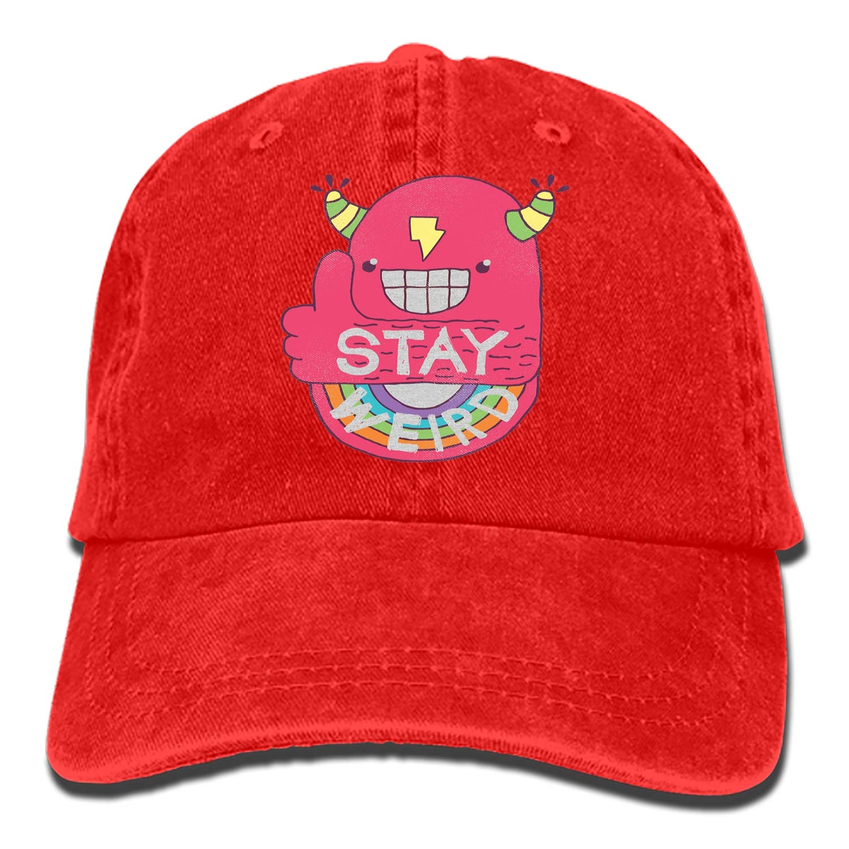 Emoji Denim Hat Adjustable Mens Casual Baseball Caps