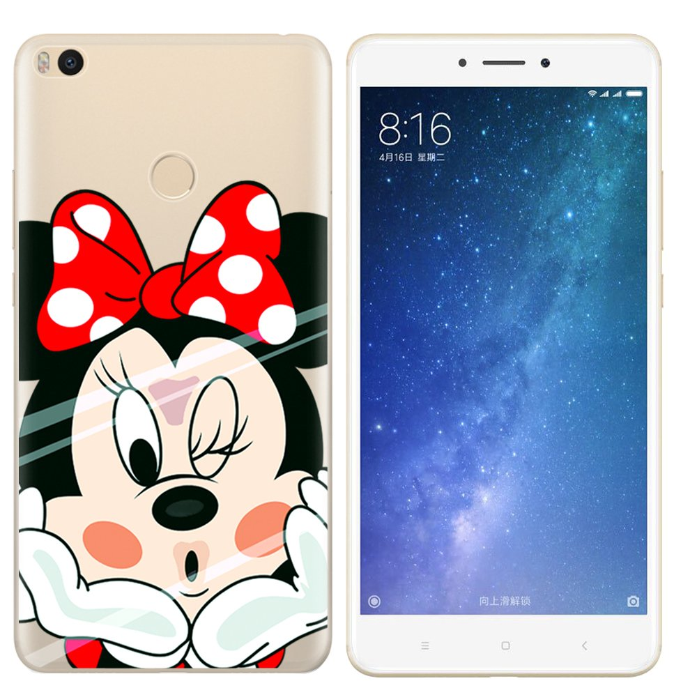 Aksuo Funda For Xiaomi Mi MAX 2 , TPU Anti-Rasguño Anti ...
