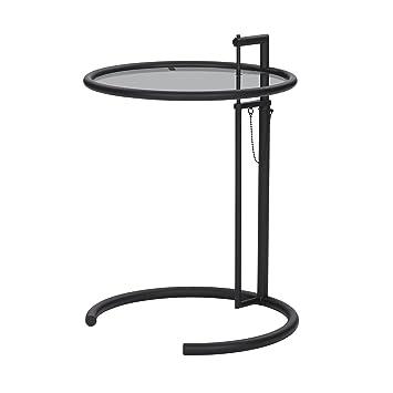 classicon adjustable table e 1027 beistelltisch design eileen gray ausfuhrung classicon adjustable table