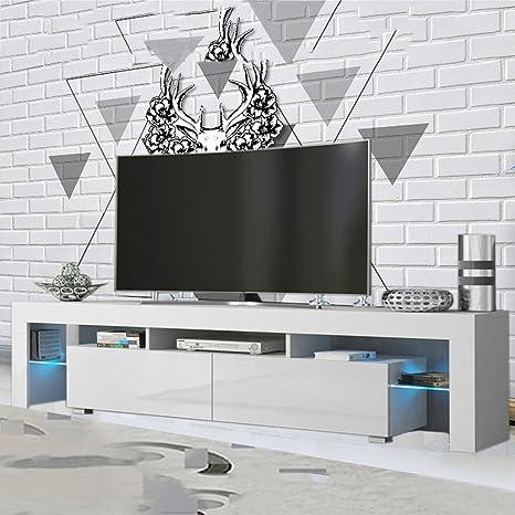Armadio Porta Tv Camera Da Letto.Porta Tv Mobile Tv Mobile Tv Armadio In Legno Laccato Luci