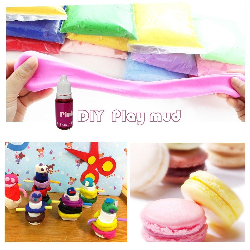 12 Colors Dye Colorant Set for Bath Bomb Making,Soap Making, Bath ...
