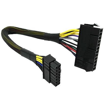 Amazon.com: COMeap 24 Pin to 14 Pin ATX PSU Main Power Adapter ...