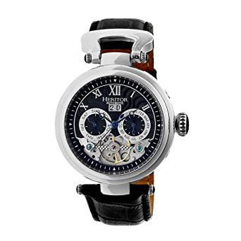 9a4d2525f Heritor Automatic Hr3302 Ganzi Mens Watch: Amazon.co.uk: Watches