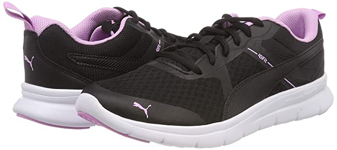 Amazon.com | Puma Unisex Adults Flex Essential Cross Trainers, Black (Puma Black-Orchid-Orchid 13), 4.5 UK | Fashion Sneakers