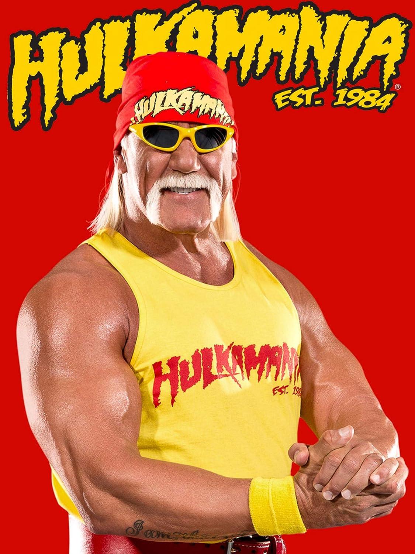 Hulk Hogan Wall Print Hulk Hogan Poster Wrestling Wall Art Hulk Hogan Home Decor Wrestling Watercolor Print