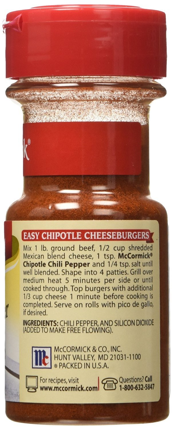 McCormick Chipotle Chili Pepper, 2.12 oz (Pack of 3) by McCormick (Image #2)